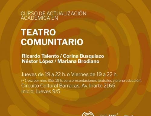 Curso de Actualización Académica en Teatro Comunitario