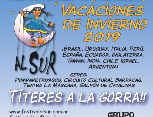 FESTIVAL INTERNACIONAL DE TITERES AL SUR 2019